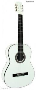 MSA fehér klasszikus gitár C26