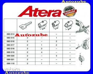 FORD  FIESTA  MK4  1999.09-2002.03  Zárbetét  4db  tetőcsomagtartóhoz  ATERA
