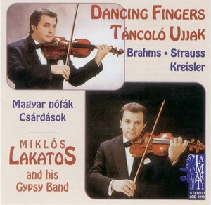 LAKATOS MIKLÓS - Táncoló Ujjak CD