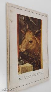 Heinrich Lützeler: Mi és az állatok / Bécsi kiadás (*98) - 1000 Ft Kép
