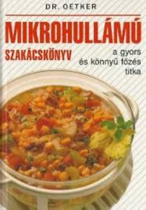 : Dr. Oetker mikrohullámú szakácskönyv