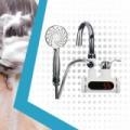 Mondigiano átfolyós vízmelegítő zuhanyfejjel