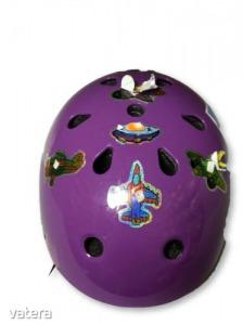 50-54 cm-es fejre lila bukósisak - Oxelo, Decathlon