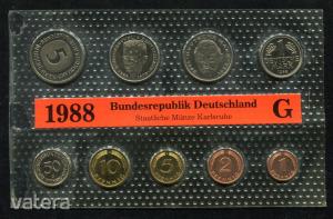1988 G  Németország  nylon tokos forgalmi sor  BG25