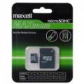 16GB Maxell microSDHC CLASS 10+SD adapter