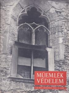 MŰEMLÉKVÉDELEM - IV. évf., 1960/1.
