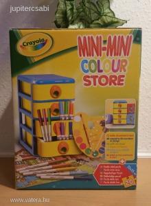 4 fiókos ceruza tároló doboz! Ajándék: a benne lévő ceruzák, zsírkréták! Azonnali postázás!