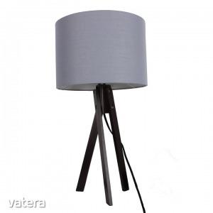 LILA typ 5 asztali lámpa,  szürke / fekete