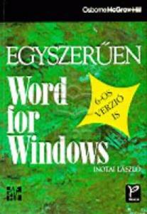 Egyszerűen Word for Windows - 6-os verzió