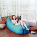 Levegővel tölthető relax ágy - piros