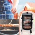 BBQ Smoker füstölő grillsütő 3 az 1-ben grill füstölő sütő