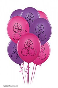 Pipedream Bachelorette Party Pecker Balloons 8 Pack
