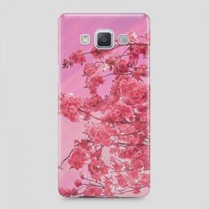 virágos Samsung Galaxy A3 (2015) tok