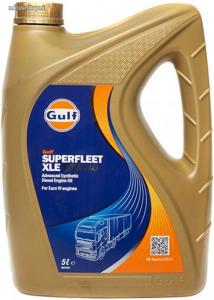 Gulf SuperFleet XLE 10W40 tehergépjármű motorolaj 5L