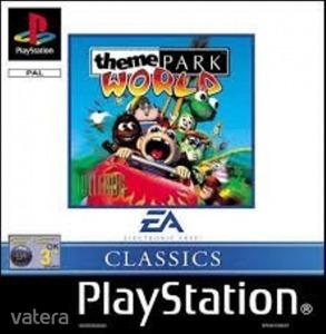 PS1  Játék Theme Park World