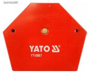 Hegesztési munkadarabtartó mágneses 111x136x24 34kg YATO YT-0867