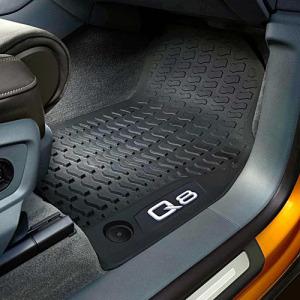 Audi Autószőnyeg gumiból, első, audi q8 (4m)