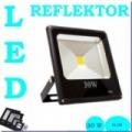 LED reflektor 30w=300w
