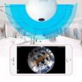 3D Panoráma VR izzó kamera E27-es foglalattal