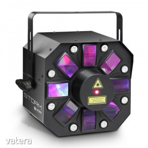 Cameo - Light Led STORM 3in1 lighting effect 5x3W RGBAW Derby Strobe and Grating Laser