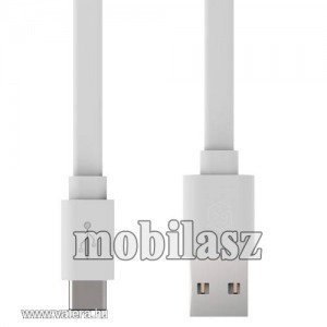 NILLKIN 2A adatatátviteli kábel, USB töltő, USB / USB Type-C, Fehér