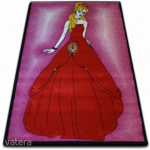 gyerekek szőnyeg Hercegnő rózsaszín C425, 240x330 cm