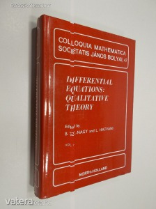 B. Sz.-Nagy - L. Hatvani: Differential Eyuations: Qualitative Theory (*83)