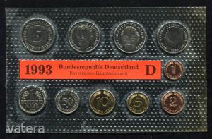 1993 D  Németország  nylon tokos forgalmi sor  BG29