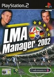 PS2  Játék LMA Manager 2002