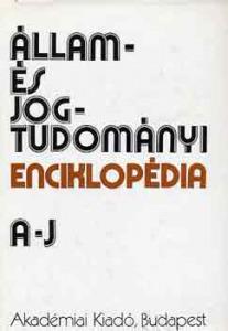 Állam- és jogtudományi enciklopédia I-II.