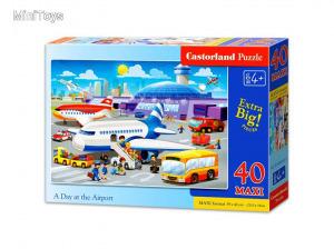 Egy nap a repülőtéren 40 darabos maxi puzzle