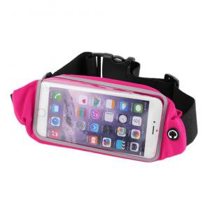 Neon Collection telefontartó futó övtáska, XL-s, 6-ig, rózsaszín