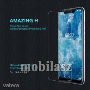 Nokia 8.1, Nillkin Amazing H üvegfólia, 9H, 0,33mm
