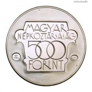 Kulturális Fórum 500 Forint 1985 PP