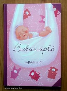Babanapló (rózsaszín, Corvina) - újszerű!