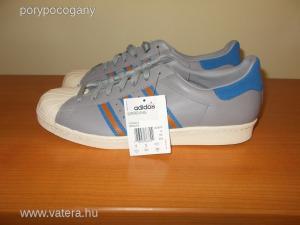 Új Adidas Originals Superstar 80s férfi bőr cipő 47 1/3 -os
