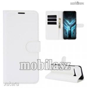 ASUS ROG Phone 3 (ZS661KS)/ ROG Phone 3 Strix, WALLET notesz mobiltok, Fehér