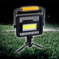 Hordozható ultraerős akkumulátoros COB LED munkalámpa / 50 W