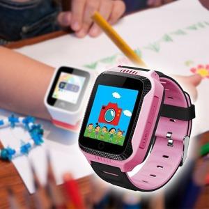 2efabd1d3e Érintőkijelzős okosóra gyermekeknek / nyomkövetés + telefon funkcióval -  Okosórák, aktivitásmérők
