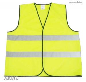 Láthatósági mellény sárga XXL Kód:84141