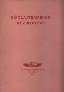 Kőolajtermékek kézikönyve
