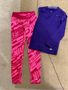 128-134-es NIKE PRO nadrág és felső