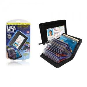 Lock wallet - Irat és bankkártya tartó egyben 129702f9ee