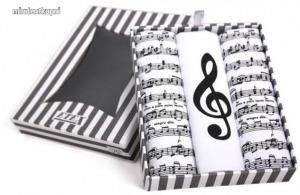 ETEX L59 kotta mintás női textilzsebkendő díszdobozban 3db