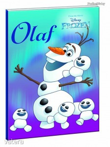 Jégvarázs, Olaf füzet, B/5 17x25cm, 40 lap vonalas