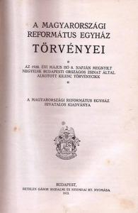: A magyarországi református egyház törvényei