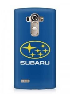 Subaru mintás LG K8 tok hátlap