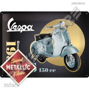 Retró Fém Tábla - Vespa GS 150cc  Dombornyomott