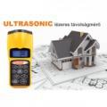 Ultrasonic lézeres távolságmérő