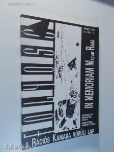 Folyosó 1993/V. szám / A Rádiós Kamara körüli lap (*82) - 1800 Ft Kép